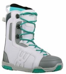 Dámské levné boty na snowboard Westige Ema white / bílé