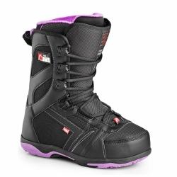 Dámské boty Head Galore Pro black/purple, dámská snowboardová obuv