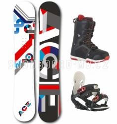 Snowboardový set Ace Isnobot S3