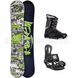 Pánský snowboardový komplet Raven Core černý