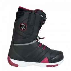 Pánské boty na snowboard Nitro Thunder TLS black/red