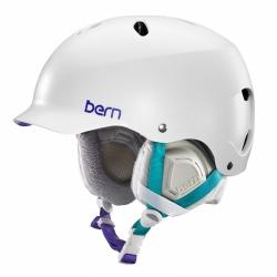 Dámská helma Bern Lenox Satin white / bílá