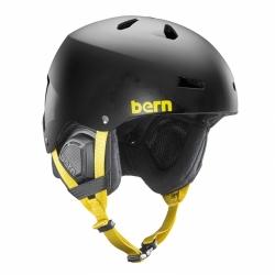 Snowboardová pánská velká helma Bern Macon Matte black wu-tang
