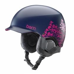 Snowboardová dámská přilba Bern Muse Satin navy geo graphic