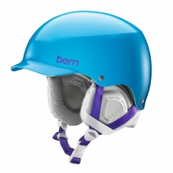 Dámská helma na snowboard Bern Muse Satin ocean blue / modrá