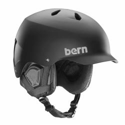 Velká helma na snowboard i lyže Bern Watts matte black
