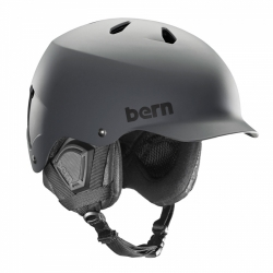 Snowboard helma Bern Watts matte grey