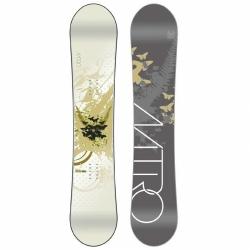 Dámský snowboard Nitro Mystique Pearl 156 cm, kvalitní snowboardy pro vysoké ženy