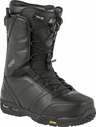 Boty na snowboard Nitro Team TLS black, pevné a kvalitní snb boty pro muže