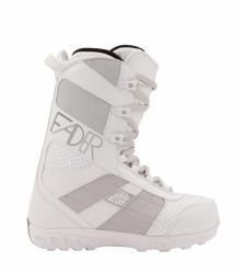Dámské boty Nitro Fader white, lehké kvalitní snb boty levně