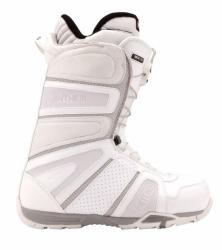 Boty Nitro Anthem TLS white/bílé, rychlostahovací snowboardové boty