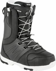 Boty na snowboard Nitro Thunder TLS black-white, kvalitní snowboardové boty