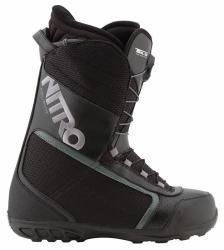 Boty na snowboard Nitro Reverb TLS black, rychlé utažení stahovacími tkaničkami