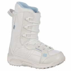 Dámské nebo dětské boty na snowboard K2 Plush white/bílé