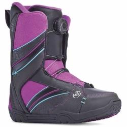 Dámské boty K2 Kat black BOA utahování kolečkem