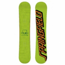Snowboard Santa Cruz Bart Simpson