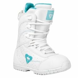 Dětské snowboardové boty Gravity Micra white/bílé, dívčí boty na snowboard