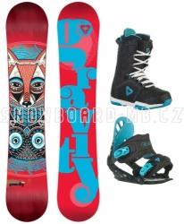 Dámský snowboardový komplet Gravity Thunder black/blue