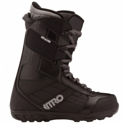 Snowboardové boty NITRO Reverb black, lehké snb boty