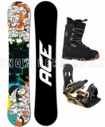 Snowboard komplet Ace Rush, kvalitní a levne snowboardové komplety