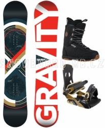 Snowboardový komplet Gravity Silent, snowboard sety pánské