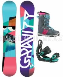 Dámský snowboardový komplet Gravity Voayer, snb sety dámské