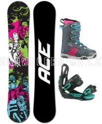 Dámský snowboardový komplet Ace Monster, dámské snowboard sety