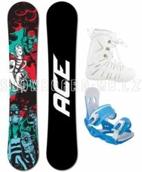 Dámský snowboard komplet Ace Villain, akce na snowboardové komplety