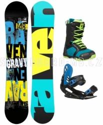 Chlapecký snowboard komplet Raven Gravy junior (větší boty)