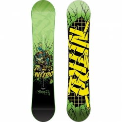 Juniorský snowboard Ripper wide - širší na velké boty