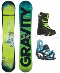Dětský snowboardový komplet Gravity Flash, dětské snb komplety