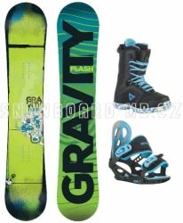 Chlapecký snowboardový komplet Gravity Flash, dětské snowboard komplety