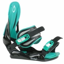 Dámské a dívčí vázání na snowboard Westige Ema black/blue S/M
