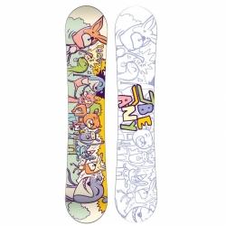 Malý dětský snowboard Beany Party pro nejmenší děti