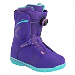 Dámské boty na snowbaord Head One Wmn Boa fialové/tyrkysové