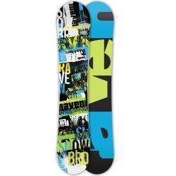 Allmountan snowboard Raven Grunge