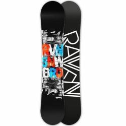 Allmountain/freestyle snowboard Raven Explorer