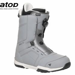 Snowboardové boty Gravity Recon Atop grey, pánská snb obuv s kolečkem