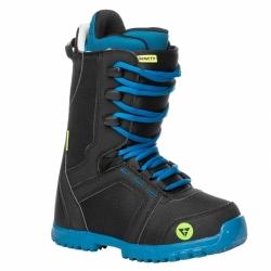 Chlapecké snowboardové boty Gravity Micro black, snb obuv černo-modrá