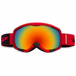 Lyžařské a snow brýle Opticus Magnetus Red/červené