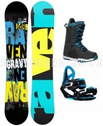 Chlapecký snowboardový komplet Raven Gravy junior s botami