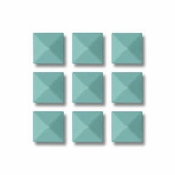 Grip Gravity Pyramid Studs Mint