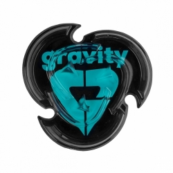 Grip Gravity Heart Mat black