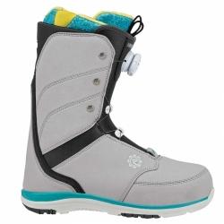 Dámské snowboardové boty Flow Onyx Coiler grey/šedé rychloutahovací BOA