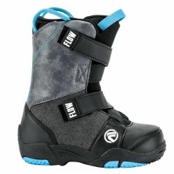 Dětské boty Flow Mini Micron Velcro black