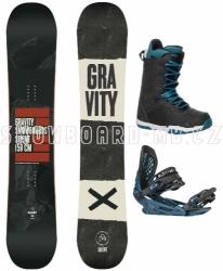 Snowboard komplet Gravity Silent 17/18