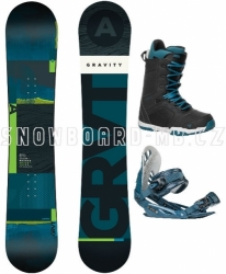 Snowboardový komplet Gravity Adventure 17/18
