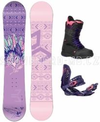 Dámský snowboard komplet Beany Spirit fialový