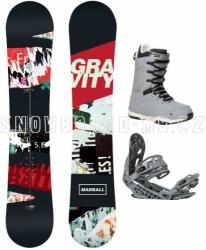 Snowboardový set Gravity Madball 17/18