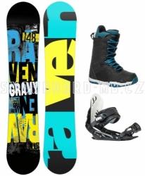 Chlapecký snowboardový komplet Gravy Junior